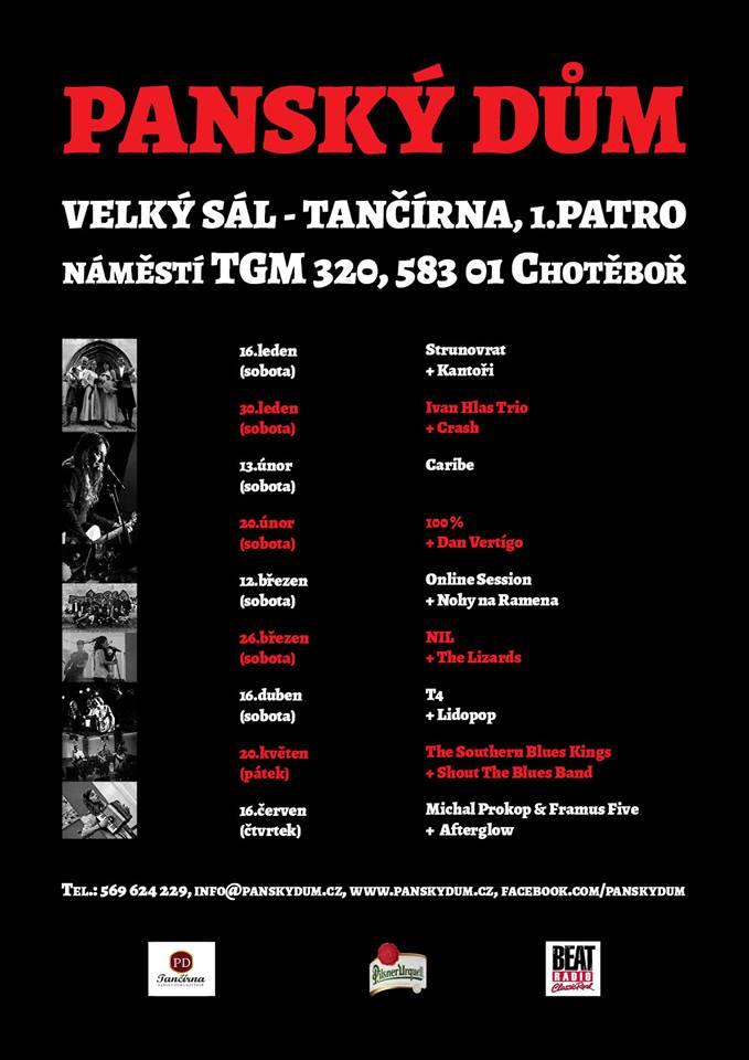 Tančírna - program