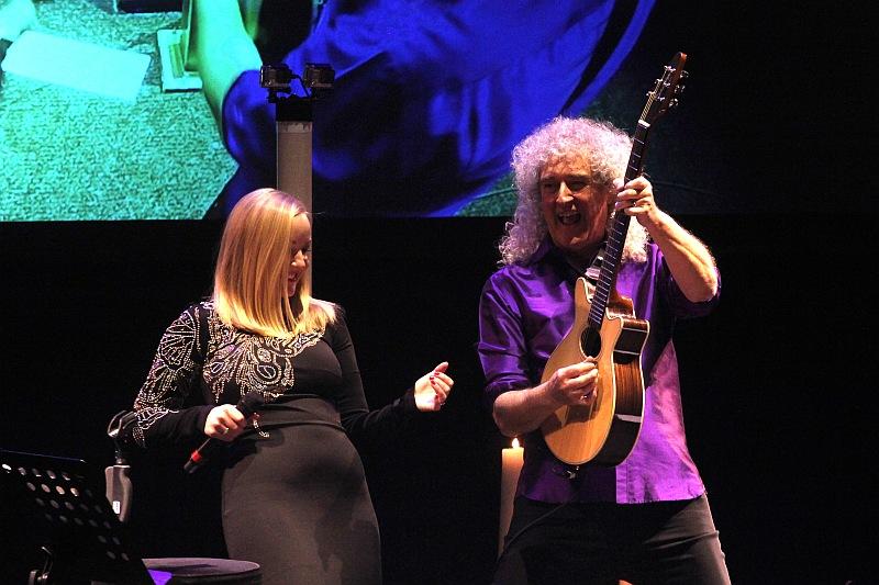 Brian May & Kerry Elliis