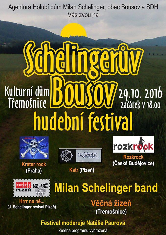 Plakát - Schelingerův Bousov