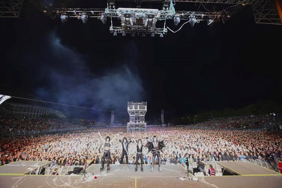 KISS, BVV Brno, 20. květen 2017. 25 000 fanoušků jednou ranou. Foto: Dean Snowden, KISSonline