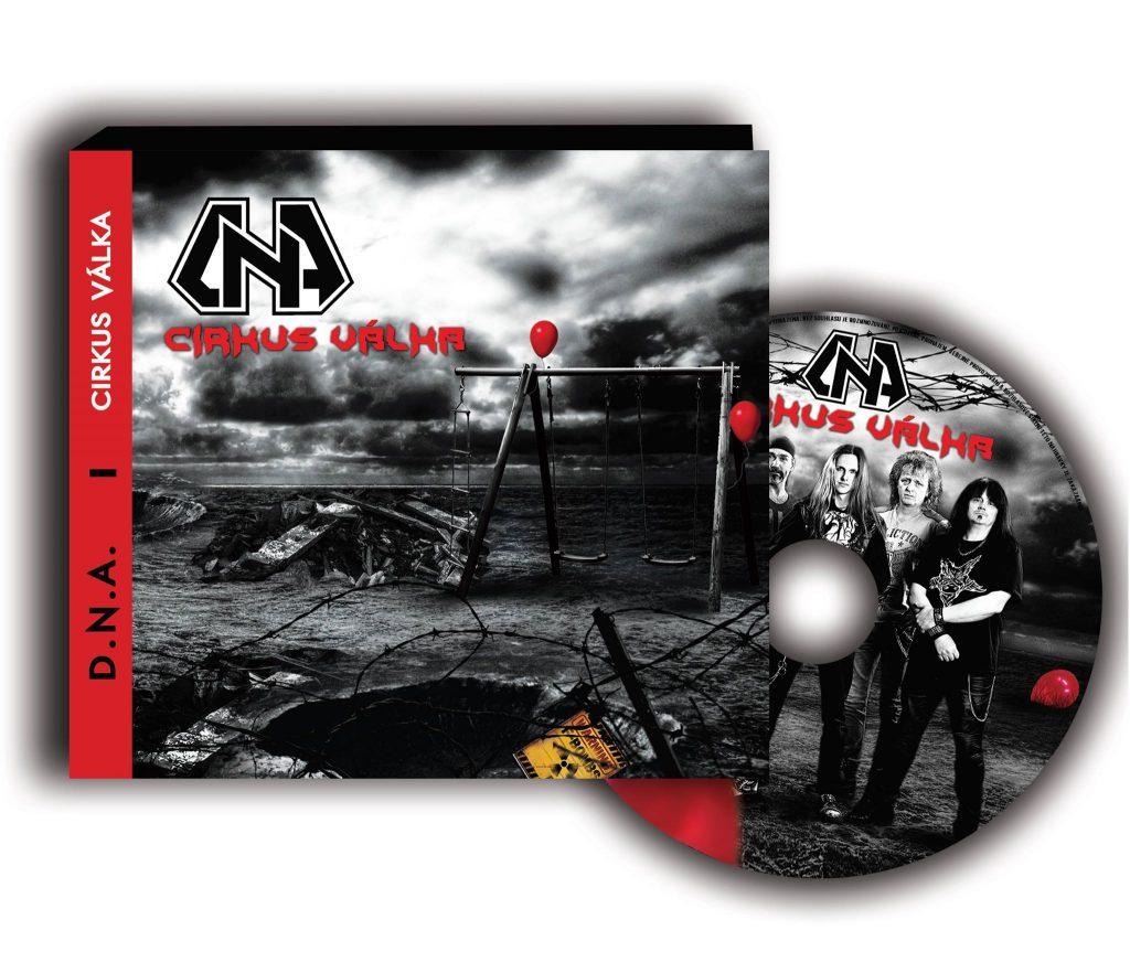 CD cover Cirkus válka