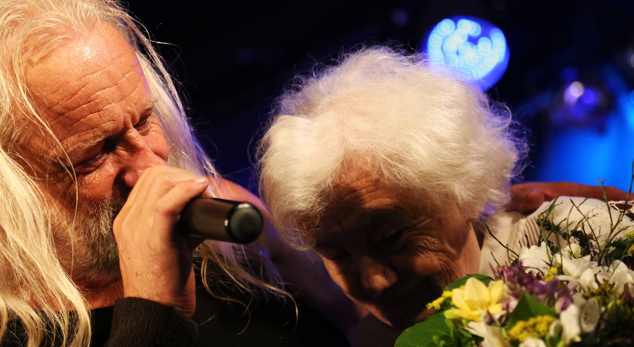 Dan Horyna s maminkou