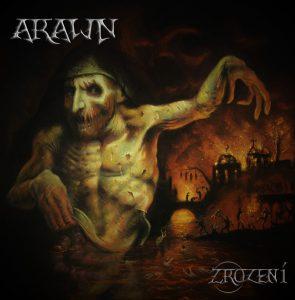Arawn: Zrození - obal CD