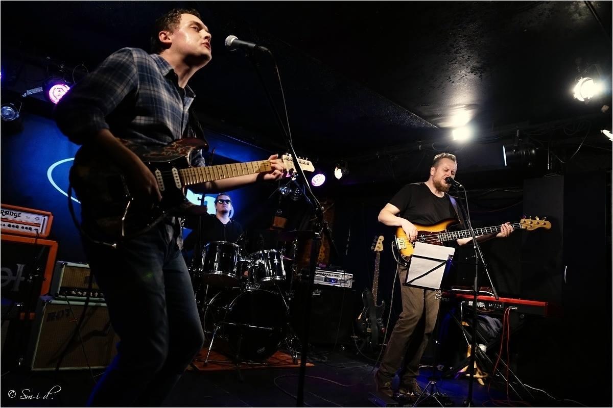 The BladderStones - zleva: Tomáš Frolík, Michael Nosek, Johnny Judl