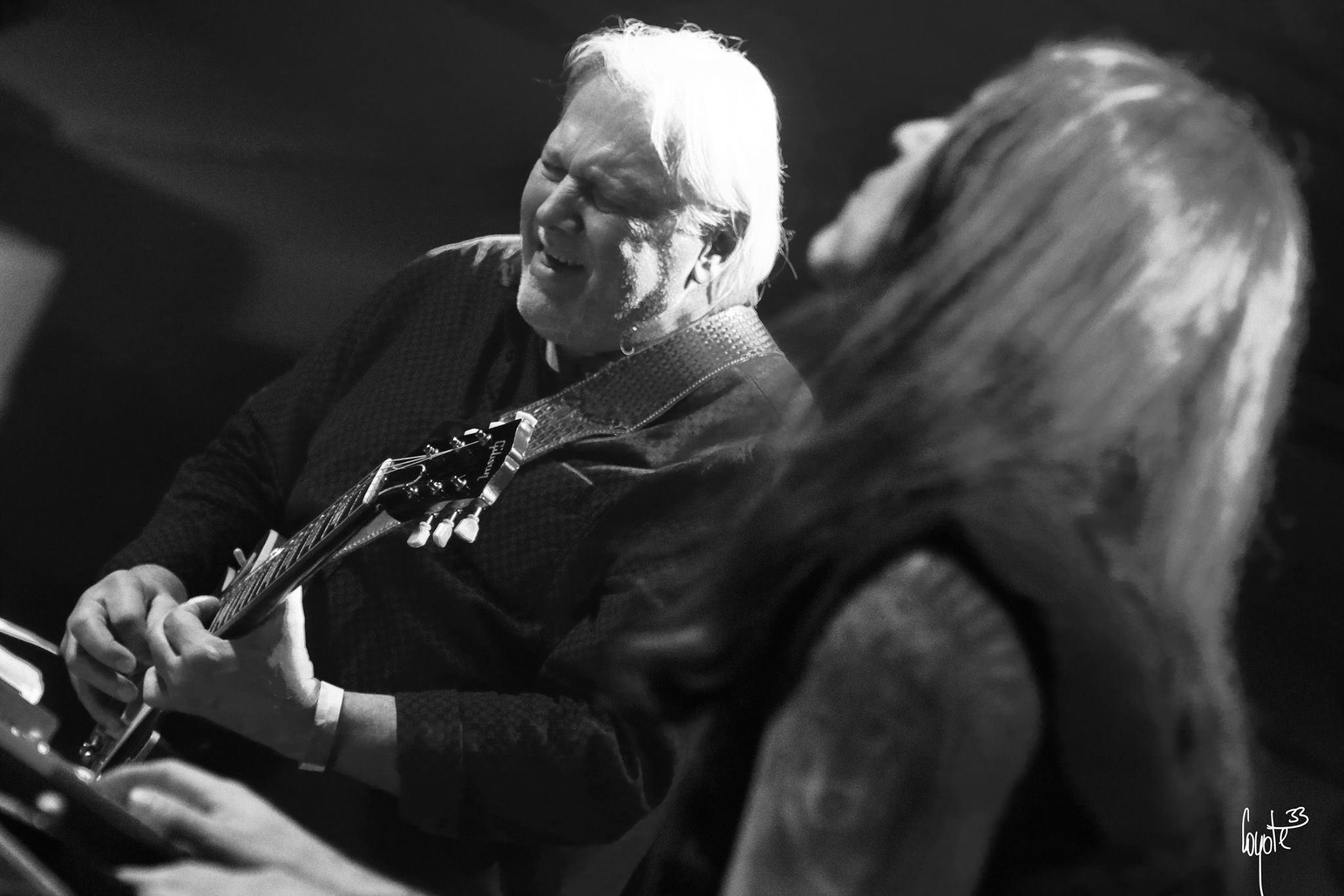 Luboš Andršt Blues Band - zleva: Luboš Andršt a Jan Holeček