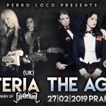 The Agony (CZ) a Syteria (UK), klub Vagón, 27. února 2019
