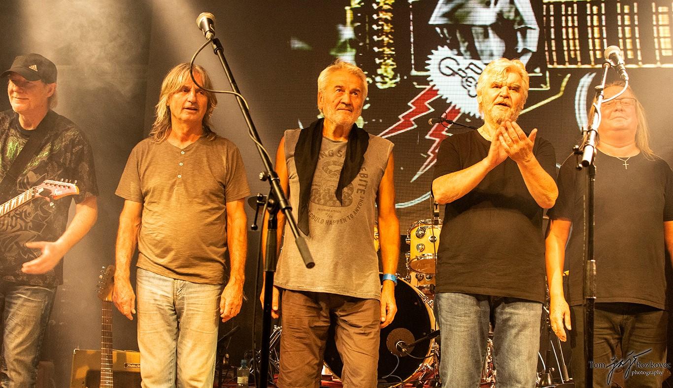 Progres 2 - zleva: Miloš Morávek, Pavel Váně, Zdeněk Kluka, Pavel Pelc, Roman Dragoun
