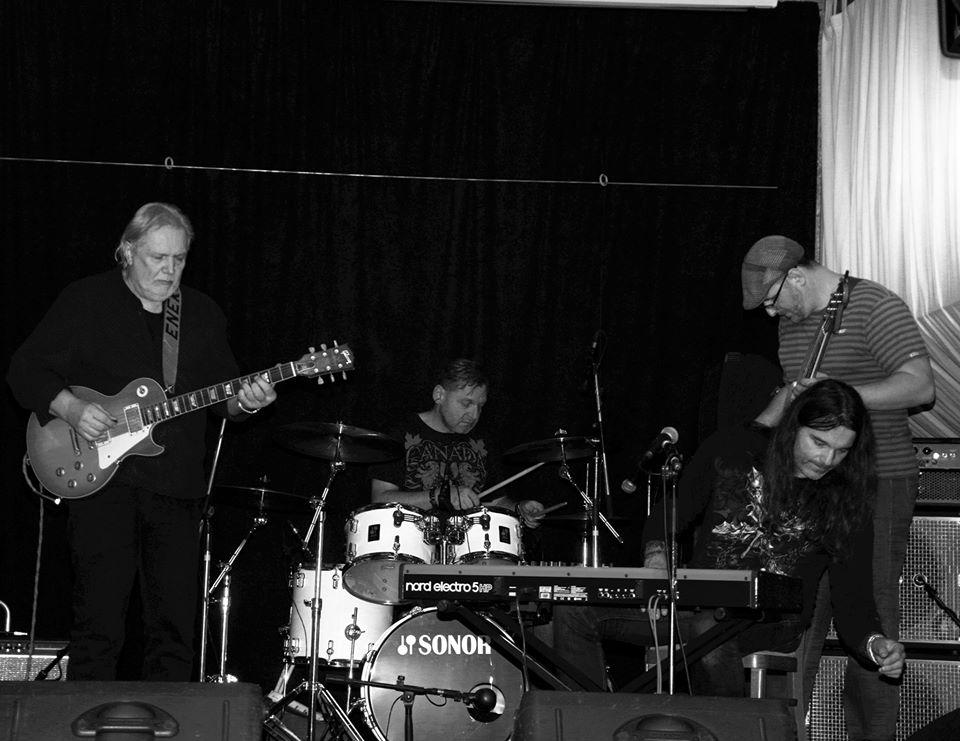 Luboš Andršt Blues Band: zleva - Luboš Andršt, Pavel Razím, Pavel Novák, Honza Holeček