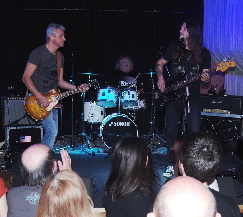Blues Amplifed - zleva: Jindra Musil, Pepa Havlíček, Honza Holeček