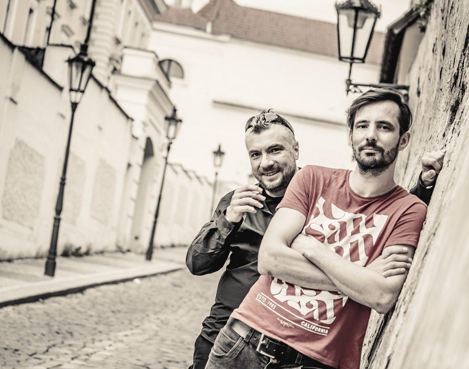 """David """"Alfik"""" Dewetter a Jan Krupička"""