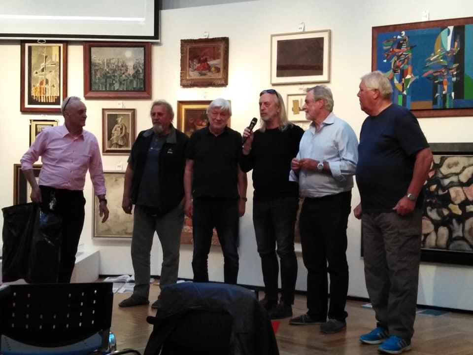 Zleva: Jiří Rybář, Jan Korbička, Petr Směja, Jiří Vondrák, Michal Prokop a Michal Polák