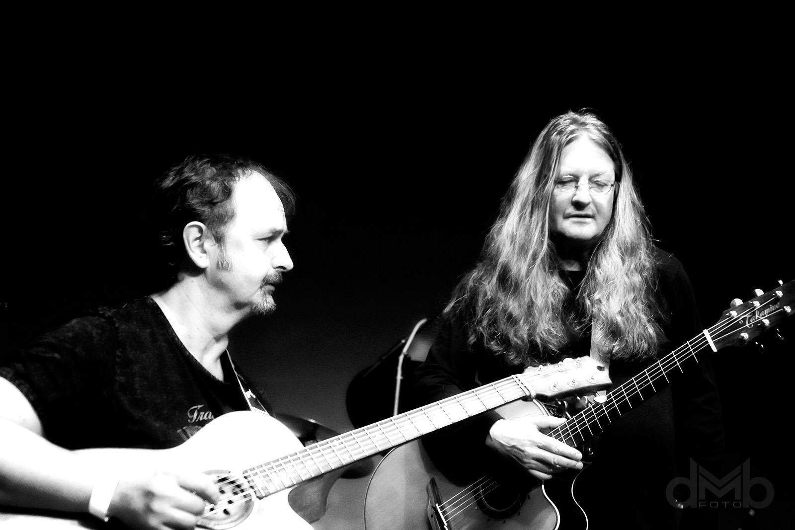 Ivan Hlas Trio - Zleva: Norbi Kovács a Ivan Hlas