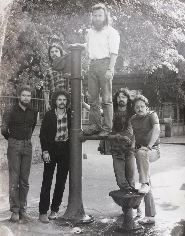 Pumpa  na počátku. Asi 1980.