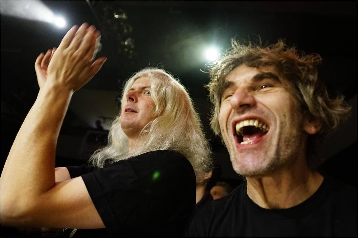 Zleva: Martin Šmid a autor článku