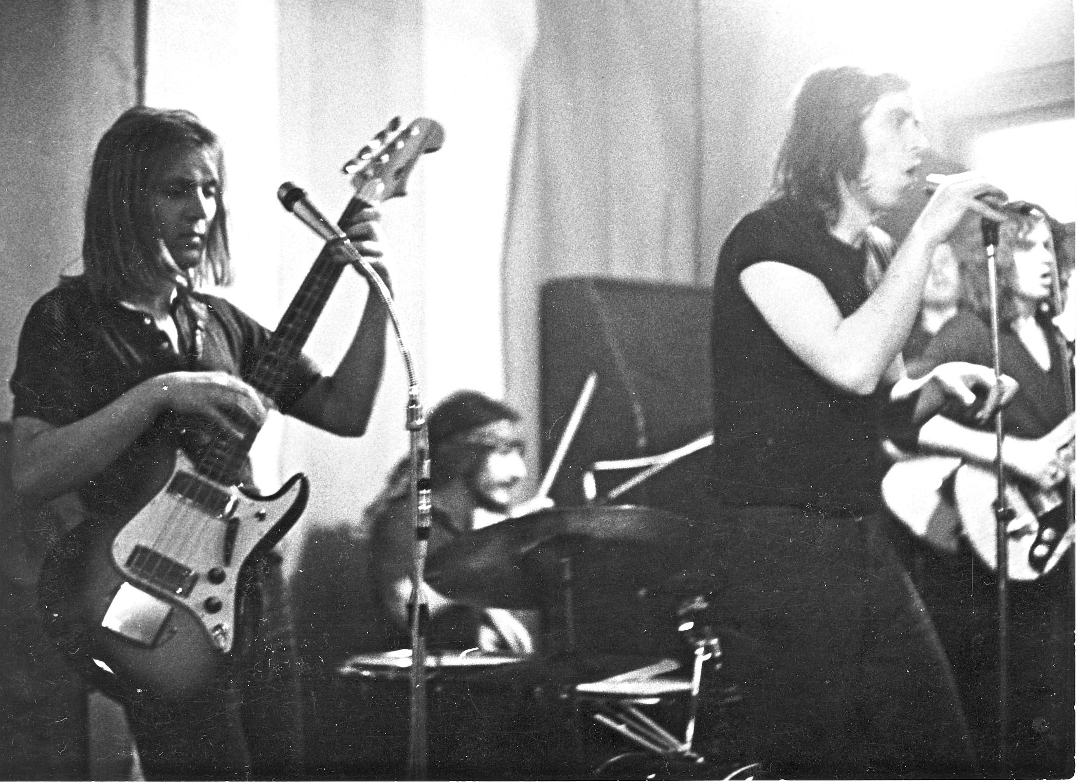 Karel Jenčík (za bicími) v roce 1971