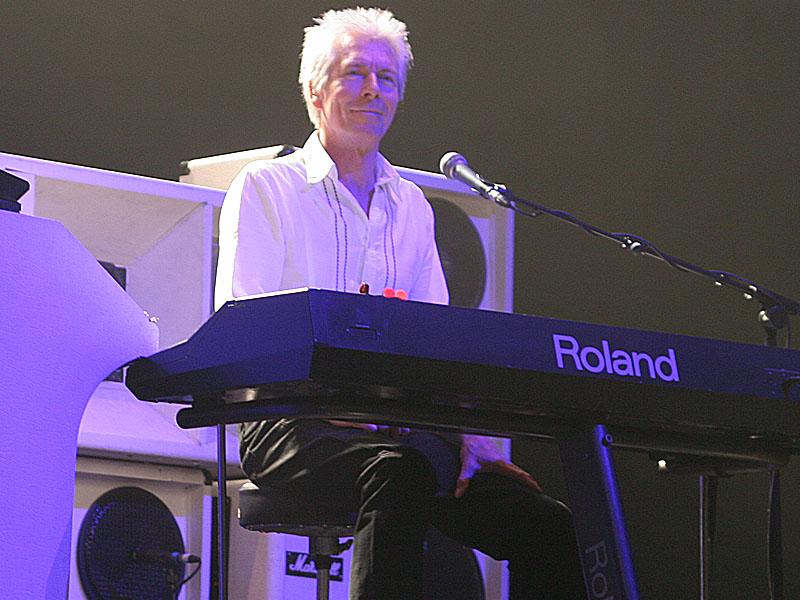 Andy před koncertem
