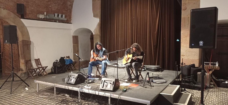 Zleva: Pavel Marcel a Honza Holeček