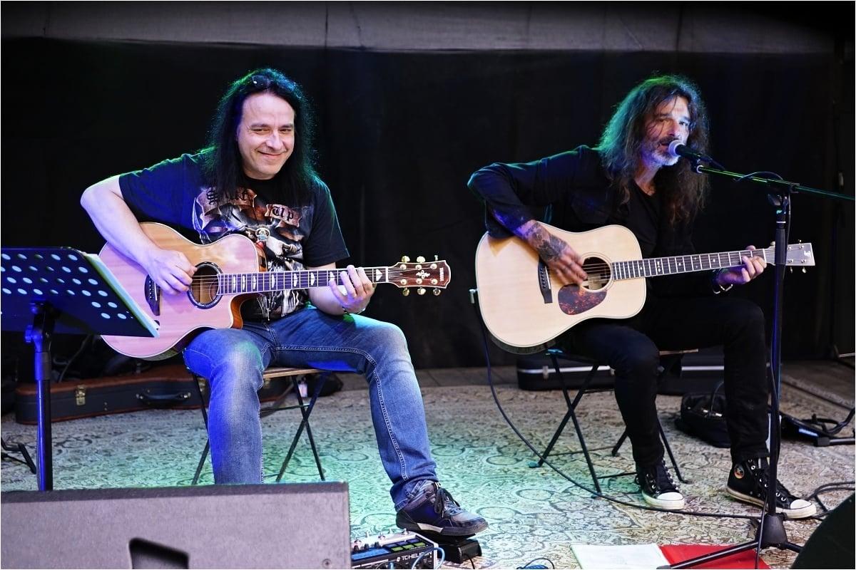 Pavel Marcel a Honza Holeček